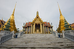 Wat pra kaew Grand palace bangkok Royalty Free Stock Photo