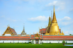 Wat pra kaew, Grand palace ,Bangkok,Thailand. Royalty Free Stock Photo