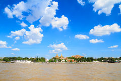 Wat pra kaew and Grand palace Royalty Free Stock Photo