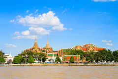 Wat pra kaew and Grand palace Royalty Free Stock Photography