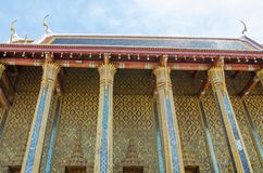 Wat Pra Kaew Grand palace Bangkok Royalty Free Stock Photo