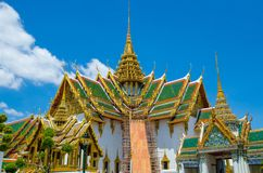 Wat Pra Kaew Grand palace Bangkok. Thailand royalty free stock photos
