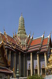 Wat pra kaew Grand palace, Bangkok,Thailand Royalty Free Stock Photography