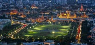 Wat pra kaew Grand palace Royalty Free Stock Image