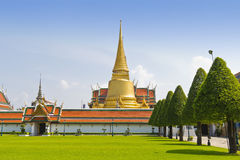 Wat pra kaew, Grand palace, Thailand Stock Photos