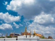 Wat pra kaew, großartiger Palast, Bangkok, Thailand Stockfotografie