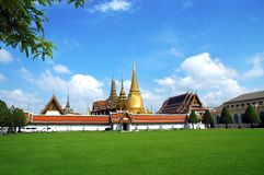 Wat Pra Kaew Royal Palace à Bangkok Images libres de droits