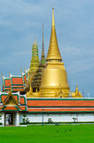 Wat Pra Kaew Royal Palace στη Μπανγκόκ, Ταϊλάνδη Στοκ εικόνα με δικαίωμα ελεύθερης χρήσης