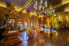 Wat Pra Kaew or The Temple of the Emerald Buddha Royalty Free Stock Image