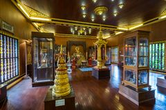Wat Pra Kaew or The Temple of the Emerald Buddha Stock Photos