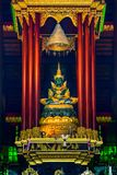 Wat Pra Kaew or The Temple of the Emerald Buddha Royalty Free Stock Photography