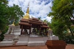 Wat Pra Kaew or The Temple of the Emerald Buddha Royalty Free Stock Photos