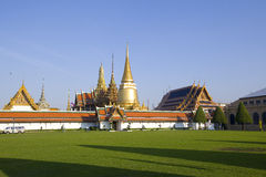 Wat Pra Kaew, Thailand Stock Foto's