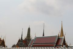 Wat Pra Keaw, Thailand stock photography
