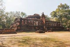Wat Pra Khaeo Archaeological Site at Kamphaeng Phet Historical Park. Kamphaeng Phet Province, Thailand Stock Images