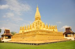 Wat Pra That Luang Royalty Free Stock Images