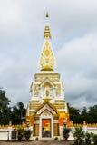 Wat Pra Prasit Stupa, Nawa, Nakhon帕侬,泰国 图库摄影