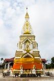 Wat Pra Prasit Stupa, Nawa, Nakhon帕侬,泰国 免版税图库摄影