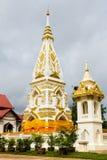 Wat Pra That Prasit Stupa, Nawa, Nakhon Phanom, Tailandia Fotografía de archivo