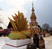 Wat Pra That Renu, Nakhon Phanom, Tailandia fotografía de archivo