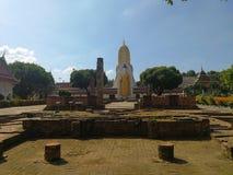 Wat Pra Si Rattana Mahathat Woramahavihan Wat Yai es un templo budista Es una atracción turística importante en Phitsanulok, fotos de archivo libres de regalías