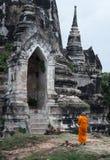 Wat Pra Si Sanphet, historischer Park Ayutthaya, Thailand lizenzfreie stockfotos
