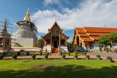 Wat Pra Sing Chiang Mai Temple. Thailand stock images