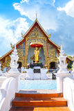 Wat Pra Sing Temple in Chiang Mai Royalty Free Stock Photos