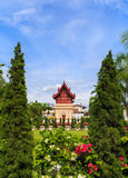 Wat Pra Singha. In Chiangmai,Thailand lot of people travel to see this stock images