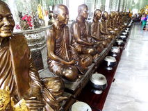 Wat pra yai ang tong stock photo