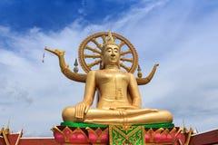 Wat Pra Yai - grande Buddha a Koh Samui Thailand immagini stock