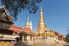Wat Prabudhabaht Huay Tom, Lamphun, Thaïlande Photos libres de droits