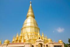 Wat Prabudhabaht Huay Toom, Lamphun Province,  Thailand Royalty Free Stock Photo