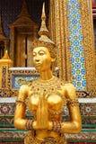 Wat PraGaew, palácio grande - Banguecoque, Tailândia Imagem de Stock