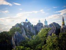 Wat Prajomklao Rachanusorn Royaltyfria Bilder