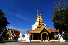 Wat Prakaew don tao. Royalty Free Stock Images