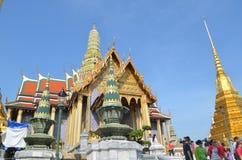 Wat prakaew. Wat Phra Kaew in Bangkok - Temple of Emerald Buddha nNa Phra Lan Road, Phra Nakhon, Bangkok 10200 Royalty Free Stock Photos