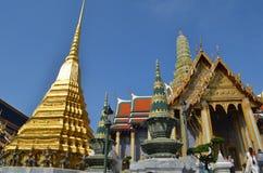 Wat prakaew. Wat Phra Kaew in Bangkok - Temple of Emerald Buddha,thailand Stock Images
