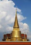 Wat prakaew, storslagen slott Arkivbilder