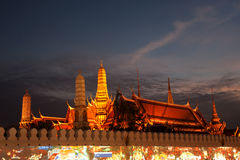 Wat Prakrew is the important temple in Thailand . Stock Photography