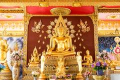 Wat Pramahaa Jedi Chimongkon arkivbild