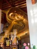 Wat Pranonjaksi, opiera Buddha, Śpiewa Buri, Tajlandia Obraz Stock