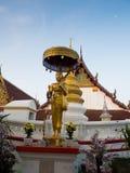 Wat Pranonjaksi, reclining Buddha, Sing Buri, Thailand.  Royalty Free Stock Photos