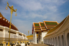 Wat Prapathomjade Temple Royalty Free Stock Images