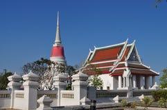 Wat Prasamutjedee , Sanutprakaen Stockfotos