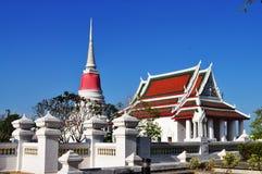 Wat Prasamutjedee , Sanutprakaen Lizenzfreies Stockbild