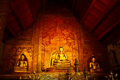 Wat Prasing,cheangmai,Thailand Royalty Free Stock Images