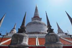 Wat pratad. Wat pramahatad southern of thailand Royalty Free Stock Image