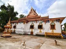 Wat Pratad Loung located at Loas. Beautiful temple and piece Stock Photo