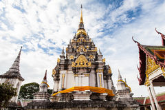 Wat pratat chaiya, Surat-thani Stock Photos